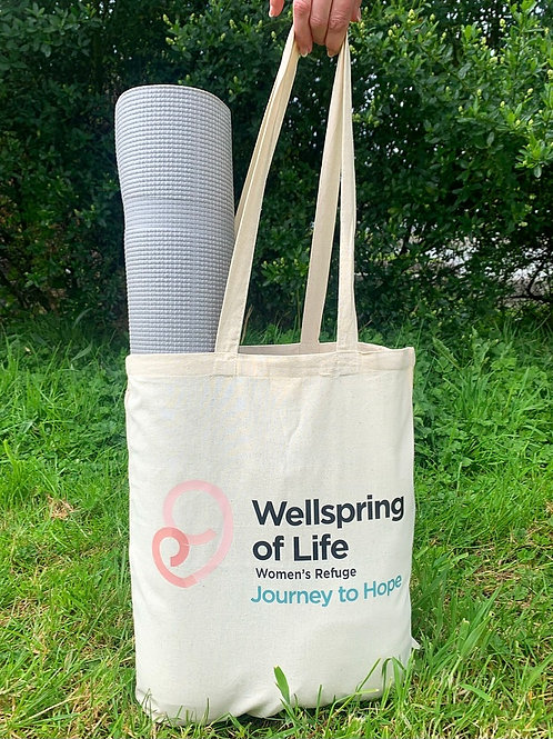 The Wellspring of Life Refuge Tote Bag