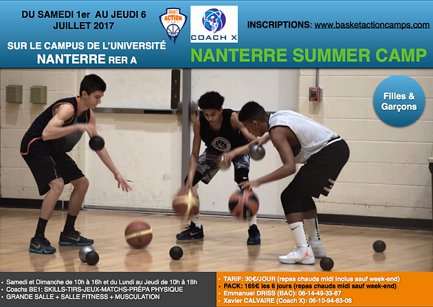 Camp Nanterre Summer Basketactioncamps Complet Nanterre Summer wPwzxqO1n