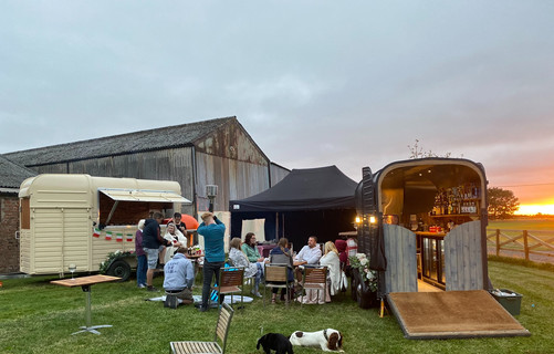 Party in Full swing. Greedy Ted's, Vintage Bar and Pink Pig Hog Roast