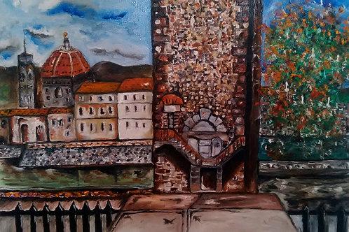 """""""Vista di una Firenze romantica"""""""