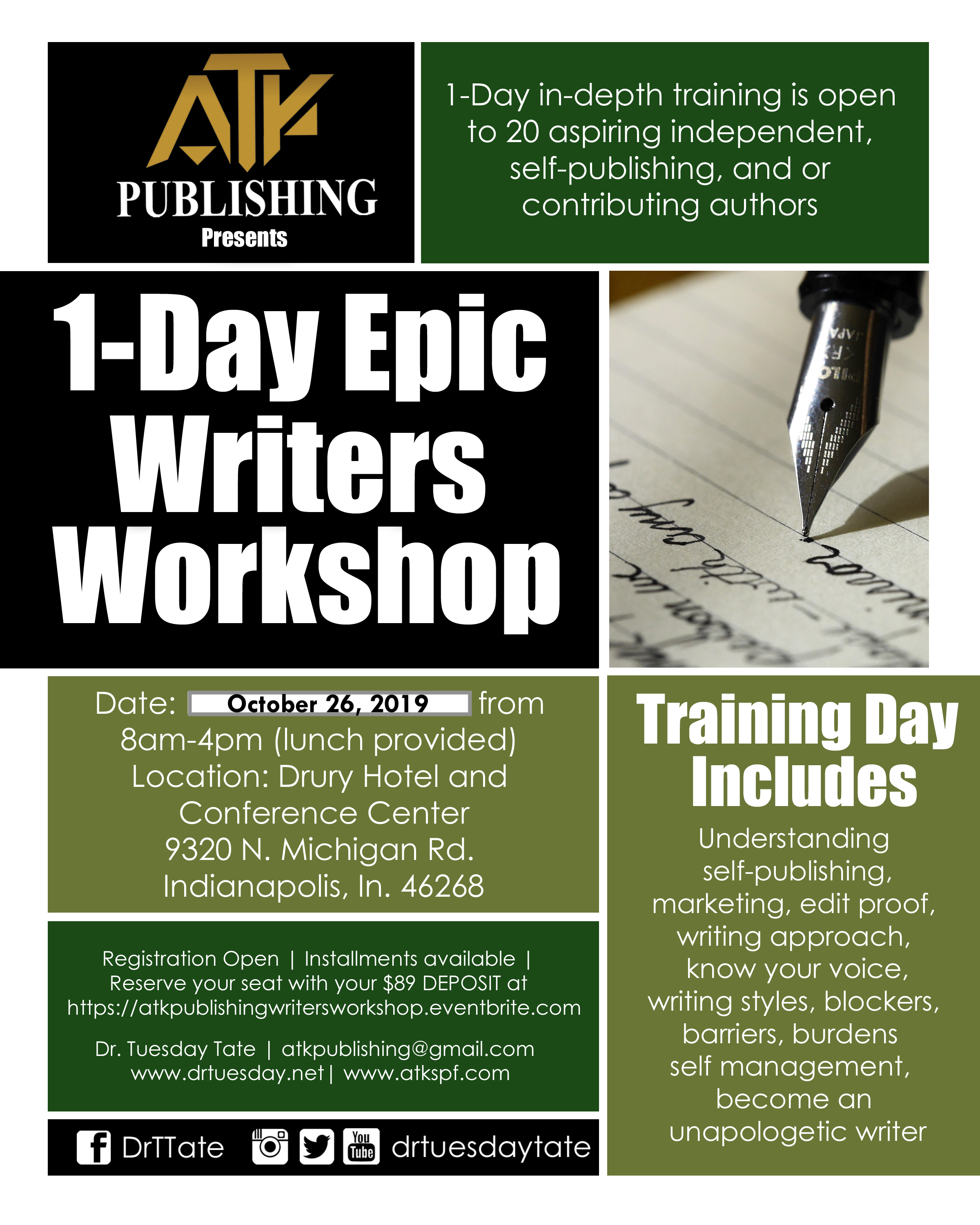 Writers Workshop102619
