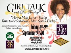 Girl Talk Flyer