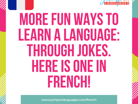Joke of the day in French!