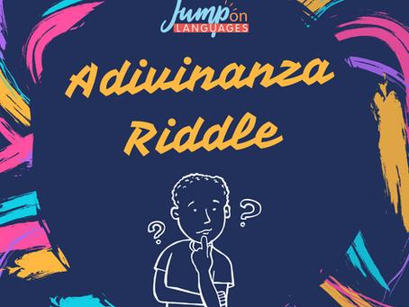 Riddle in Spanish - Adivinanza