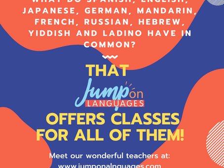 More languages
