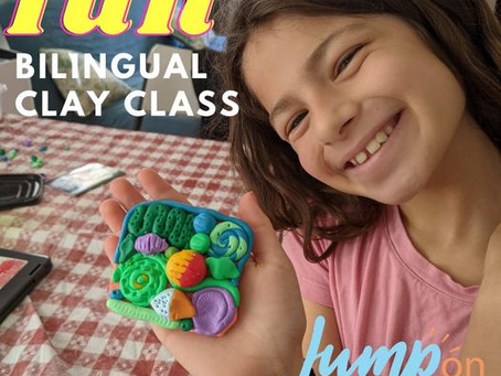 Art with Clay in Spanish and English
