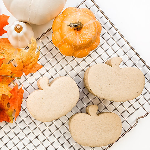 No-spread Pumpkin Spice Sugar Cookie Recipe