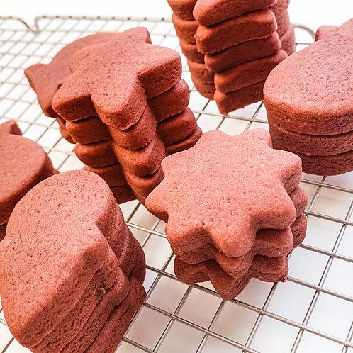 Red Velvet Sugar Cookie Recipe