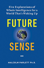 Future Sense.  Five Explorations of Whole Intelligence For A World That Is Waking Up
