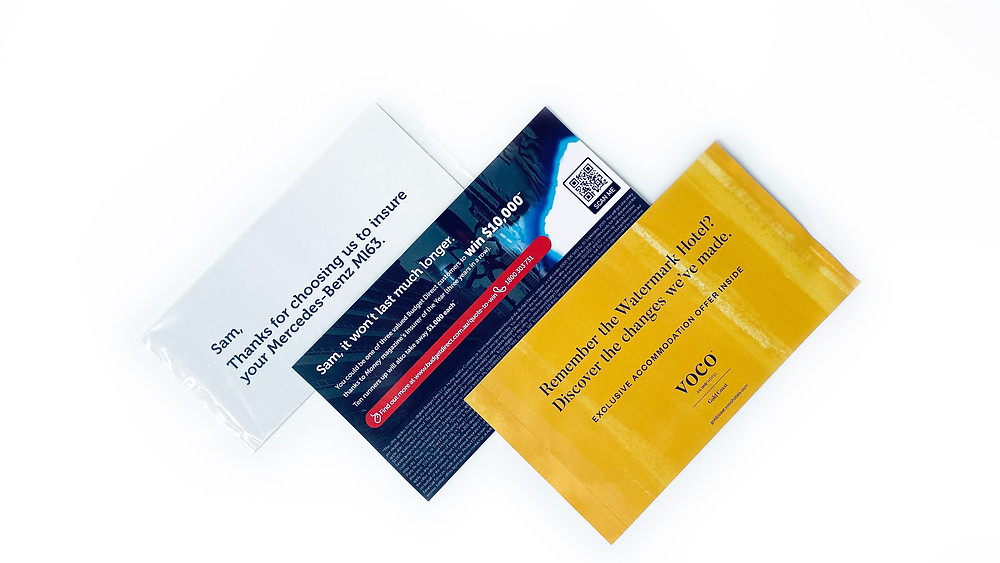 Personalised Direct Mail Letterbox Campaigns