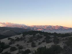 Sunrise on mountains Day 2