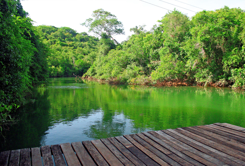 Deck no Rio Formoso