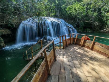 CACHOEIRA DO SINHOZINHO: uma das principais cachoeiras de Bonito você pode conferir no Parque!