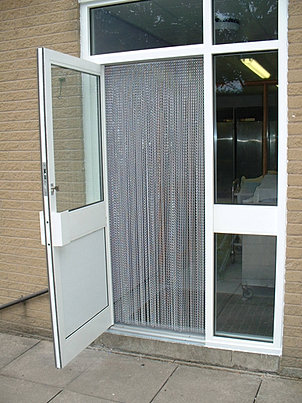 Insect Screens & Fly Screens for Windows & Doors | Chain Curtains