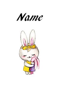 Rabbit baby girl