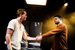 One Arm @ Southwark Playhouse (c) Alex Brenner, no use without credit (_DSC4060)