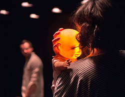 Alex Waldmann, Adelle Leonce, In the Night Time (Before the Sun Rises) by Nina Segal Gate Theatre 20