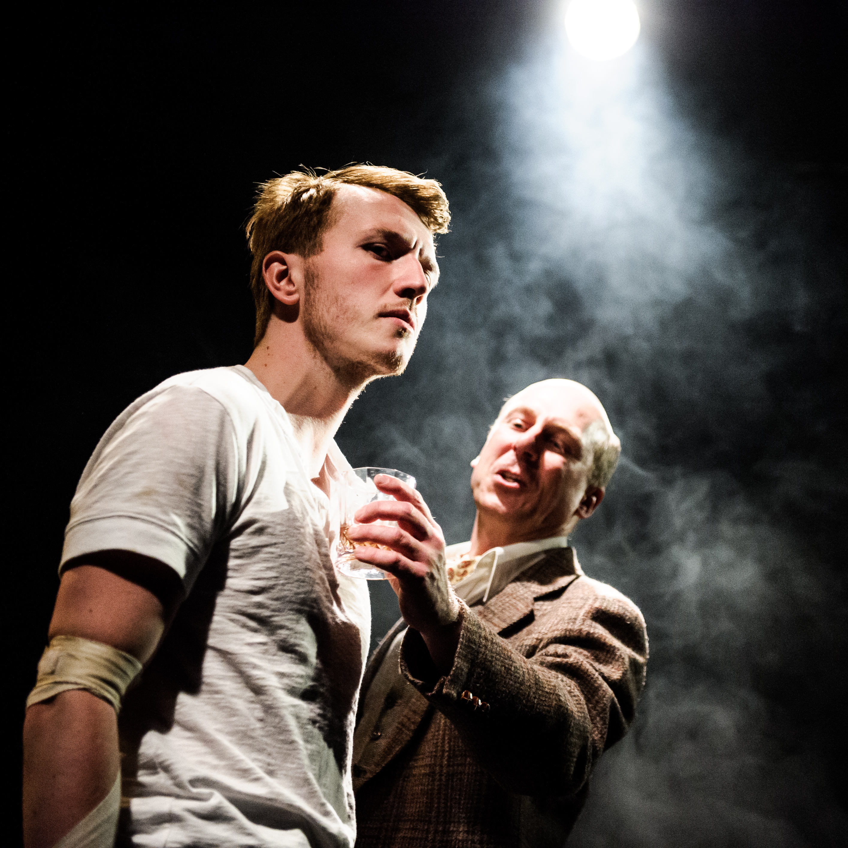 One Arm @ Southwark Playhouse (c) Alex Brenner, no use without credit (_DSC4307)