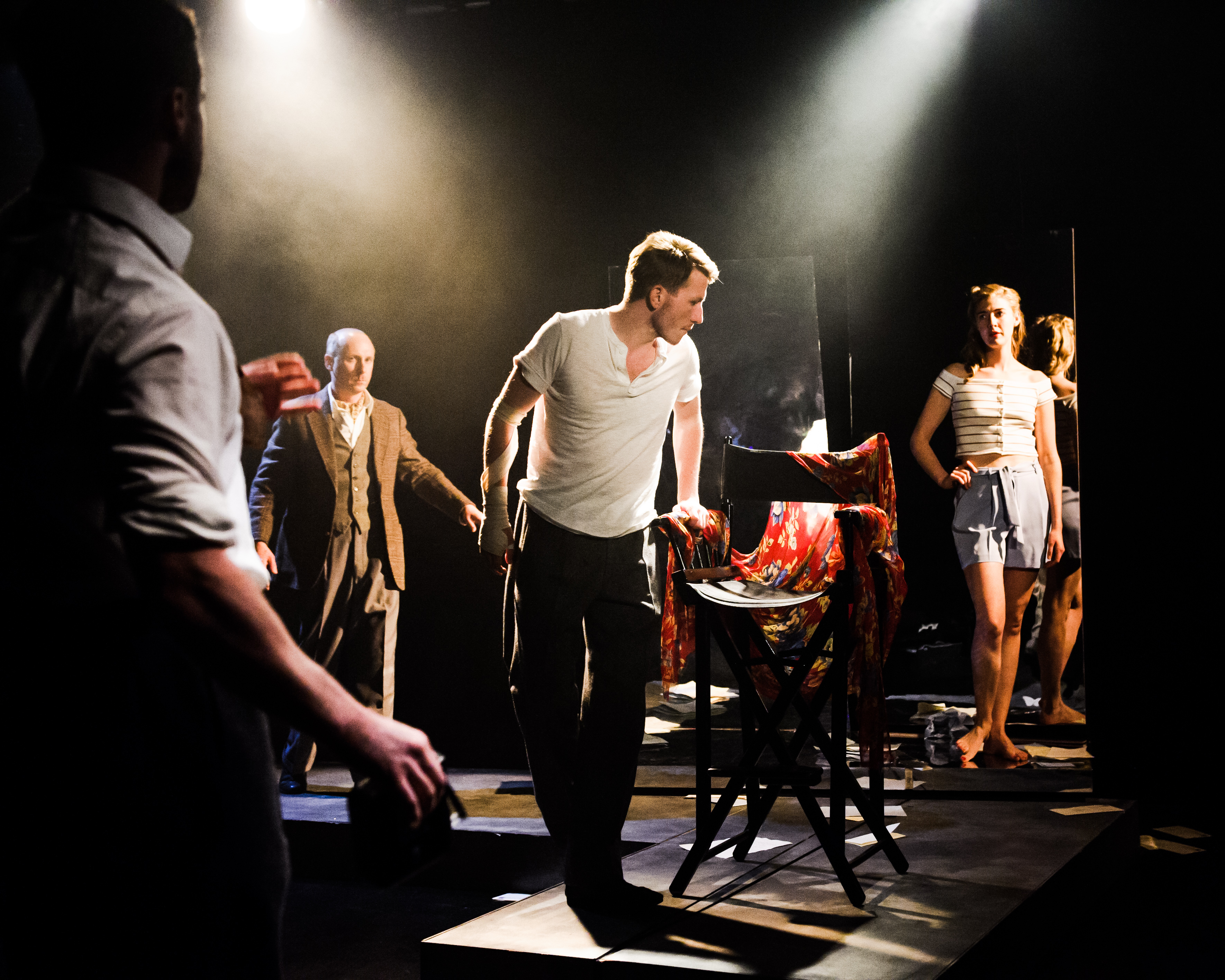 One Arm @ Southwark Playhouse (c) Alex Brenner, no use without credit (_DSC4218)