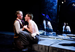 One Arm @ Southwark Playhouse (c) Alex Brenner, no use without credit (_DSC4415)