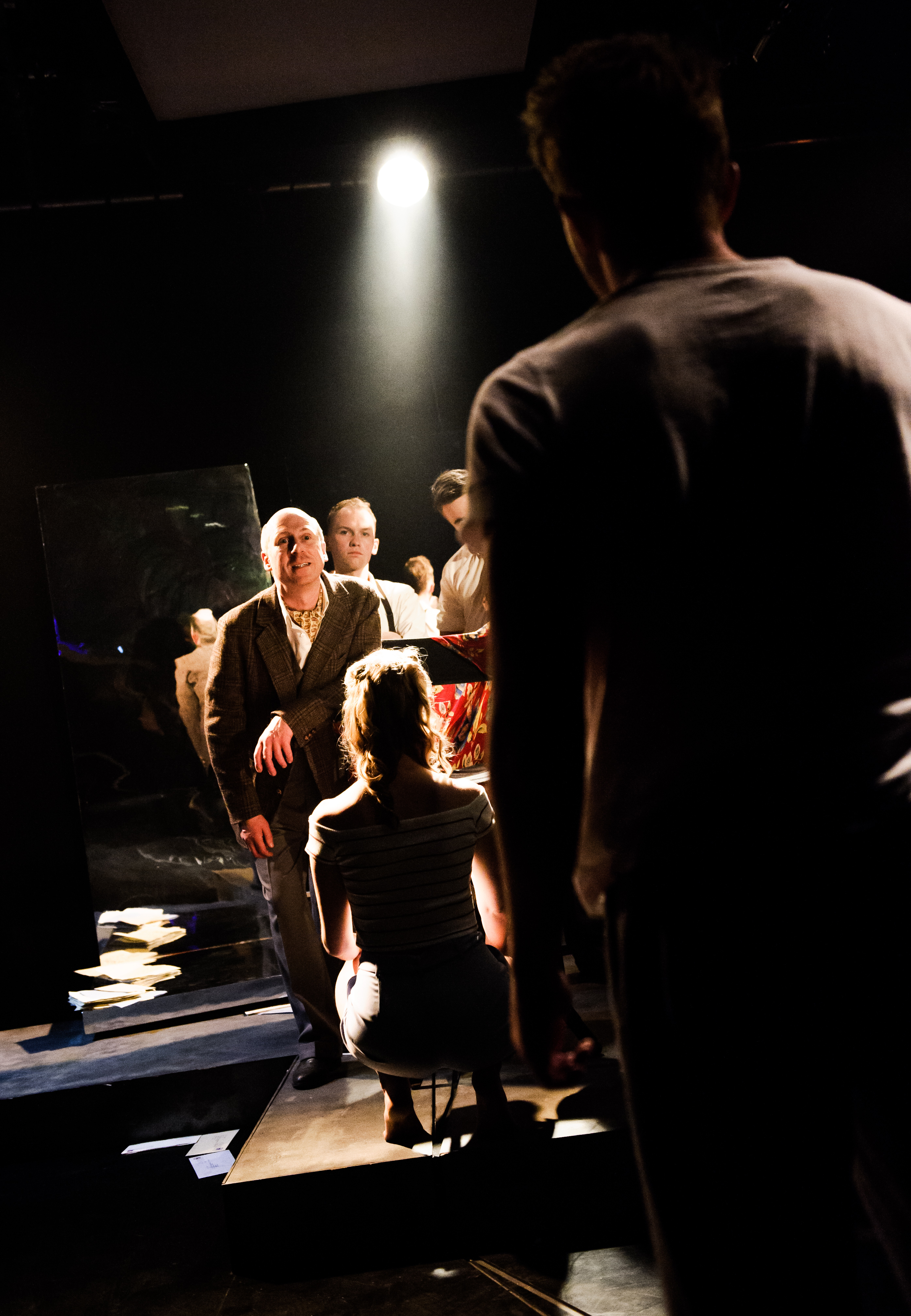 One Arm @ Southwark Playhouse (c) Alex Brenner, no use without credit (_DSC4237)