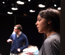 Alex Waldmann, Adelle Leonce In the Night Time (Before the Sun Rises) by Nina Segal Gate Theatre  20
