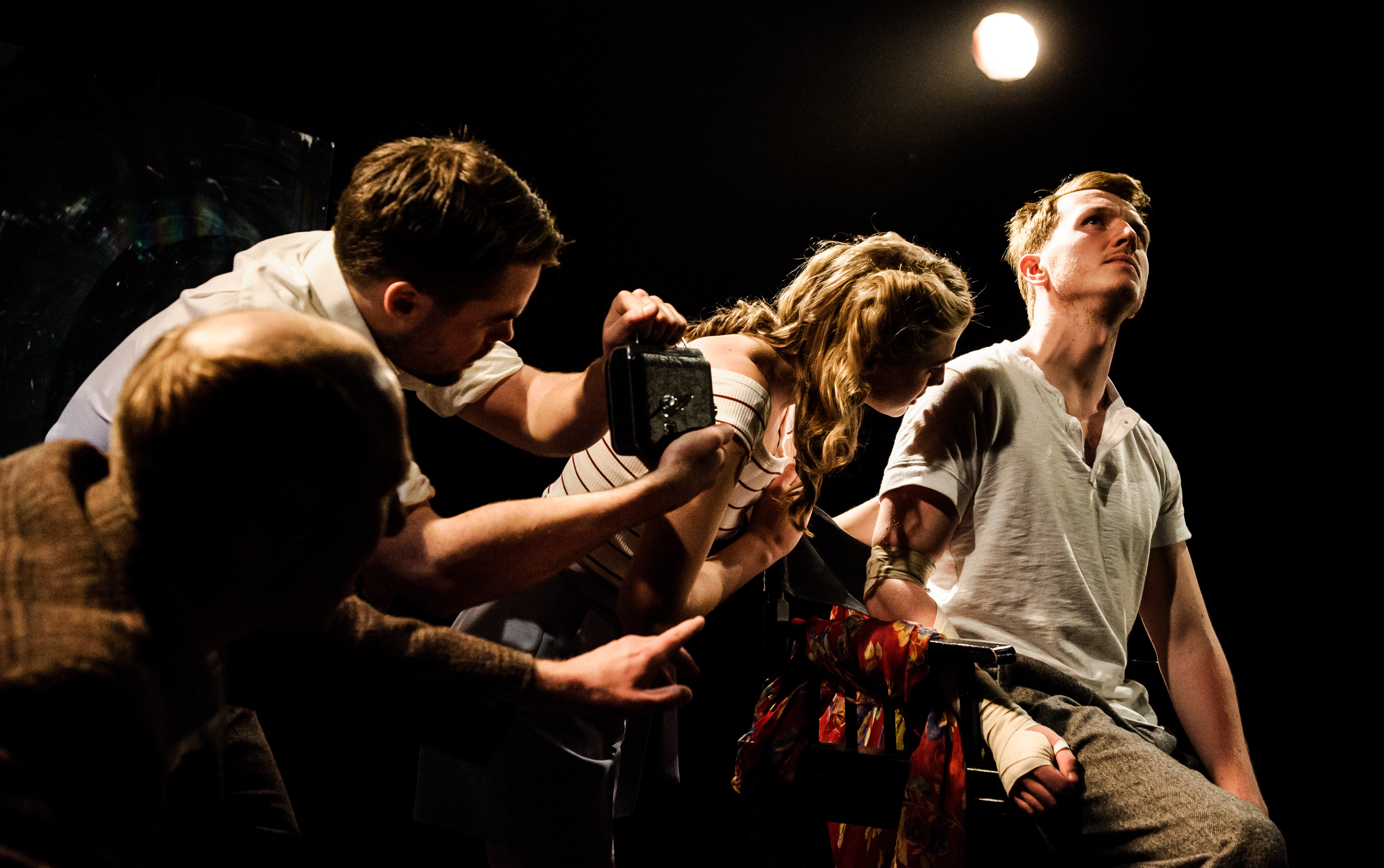 One Arm @ Southwark Playhouse (c) Alex Brenner, no use without credit (_DSC4258)