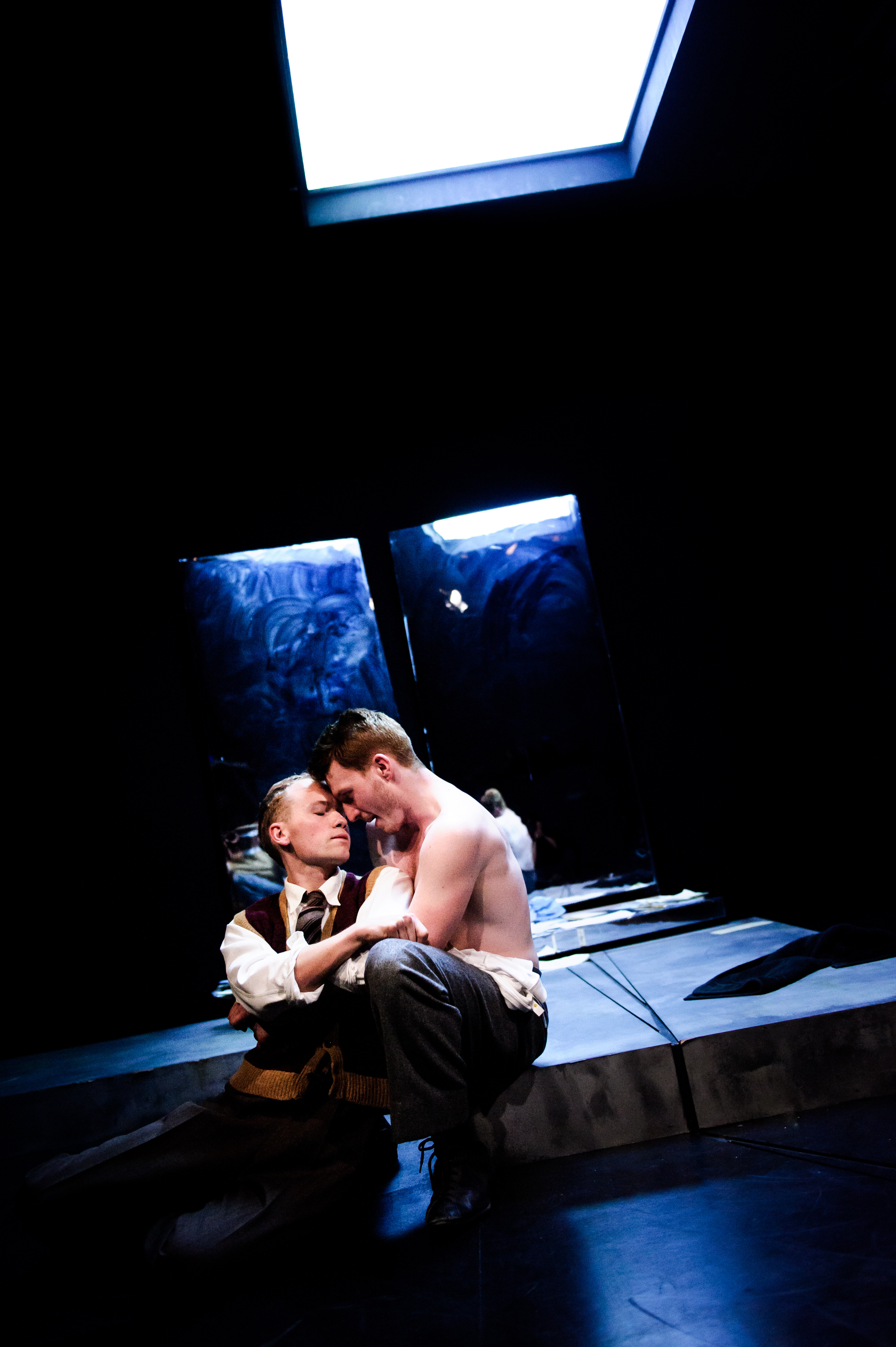 One Arm @ Southwark Playhouse (c) Alex Brenner, no use without credit (_DSC4436)