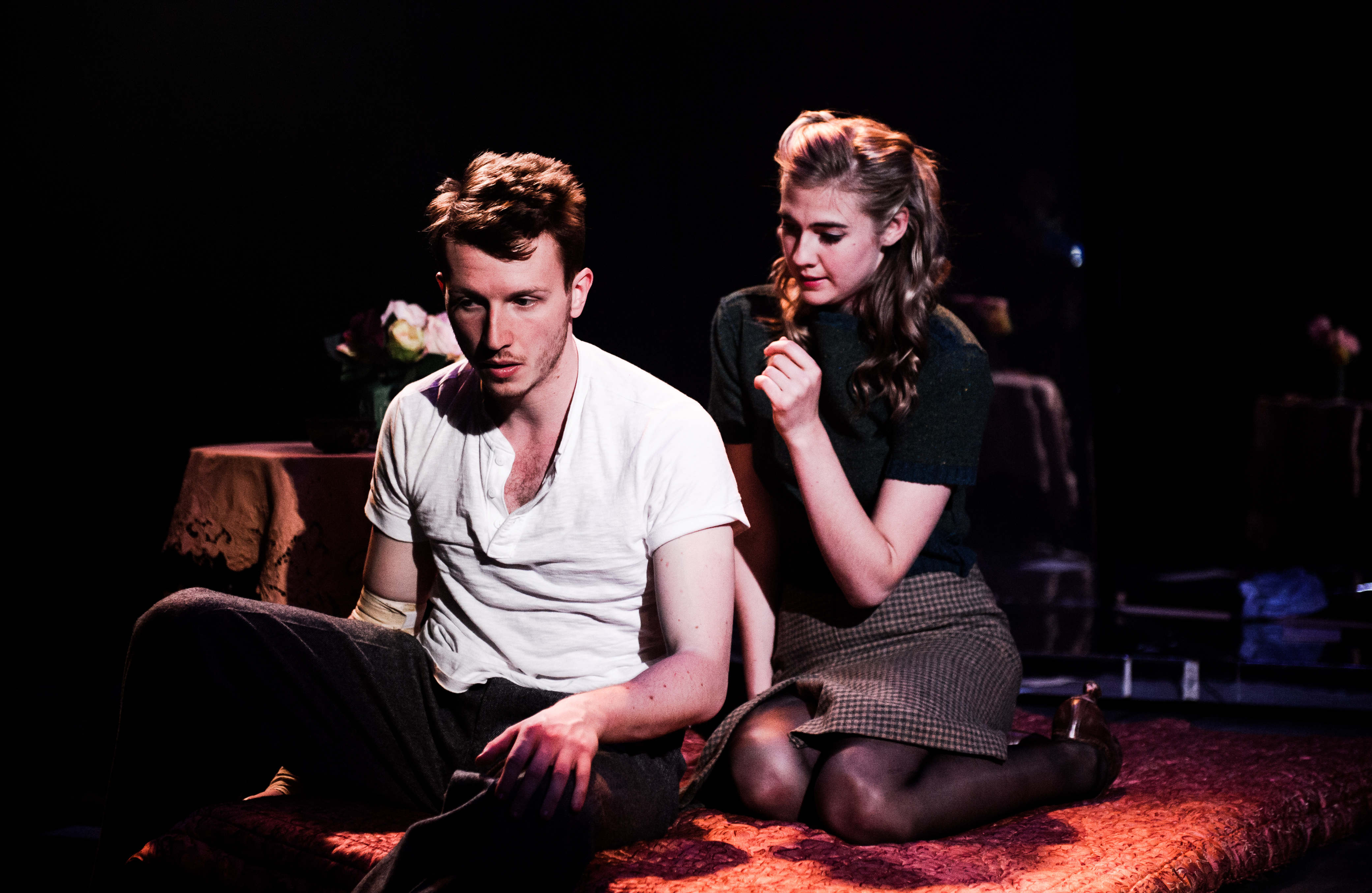 One Arm @ Southwark Playhouse (c) Alex Brenner, no use without credit (_DSC4001)