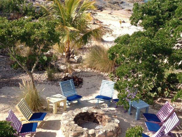 Beachfront Fire Pit