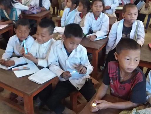 Accéder à l'éducation au Laos