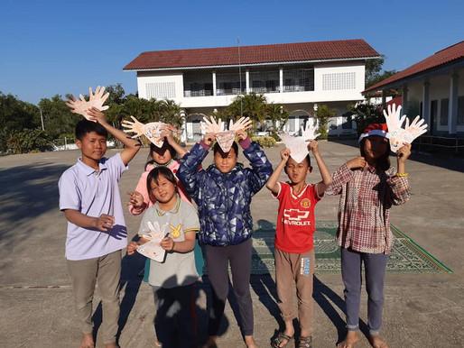 Actualités du centre de jeunes sourds et muets de Luang Prabang - Décembre