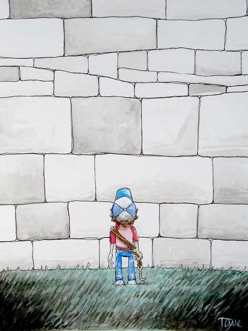 """""""The Way Of Walls"""" Giclee by Dave Ferguson"""