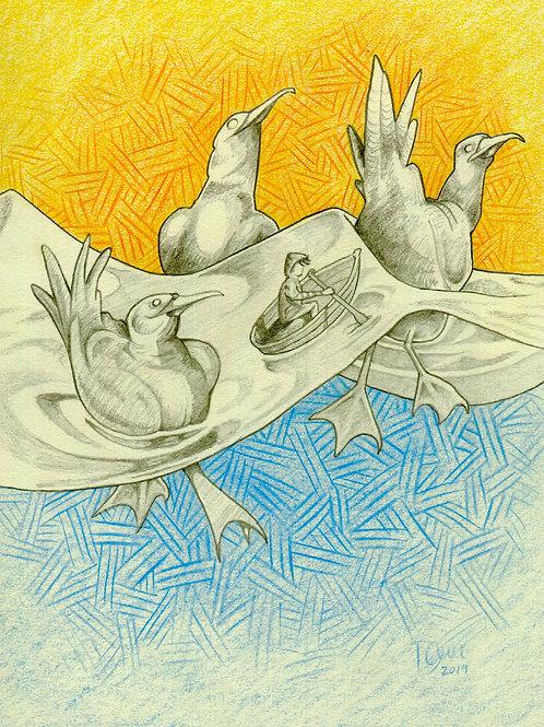 """Sea Follies"" by Dave Ferguson"