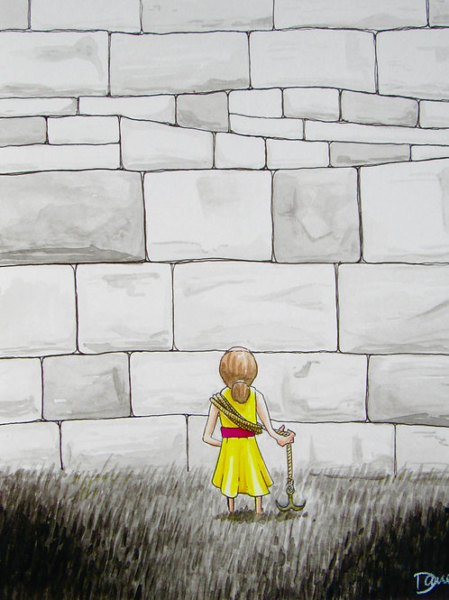 """Walls Are The Way"" Giclee by Dave Ferguson"