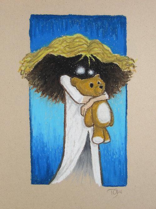 """""""Talisman Teddy"""" Giclee by Dave Ferguson"""