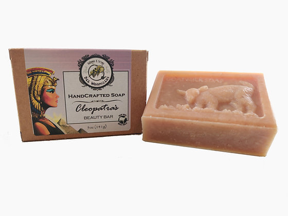 Cleopatra's Beauty Bar (Goats Milk) - Handcrafted Cold Process Soap