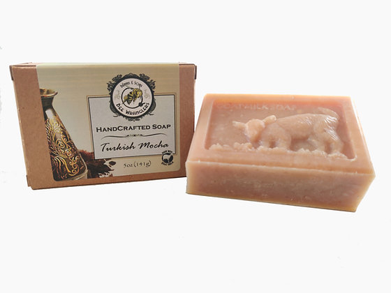 Turkish Mocha (Goats Milk) - Handcrafted Cold Process Soap