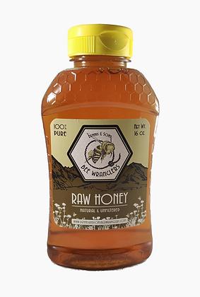 Pure & Natural Raw Honey - 1lb/16oz (Light/Medium Color)