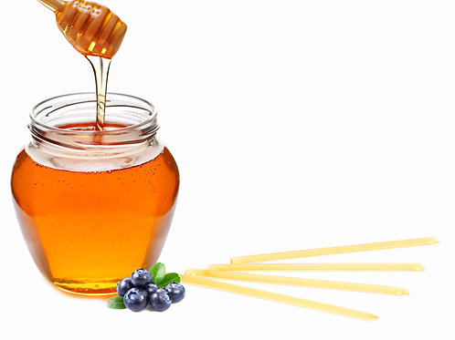 Honey Sticks - Blueberry Flavored (4 pack)