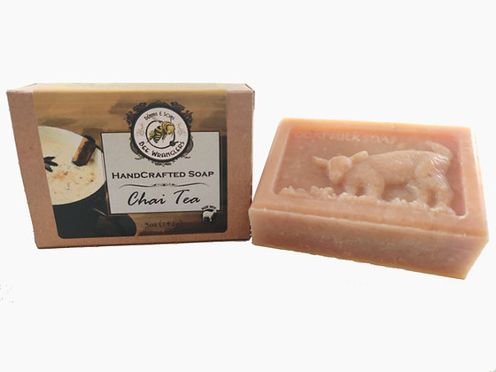 Chai Tea (Goats Milk) - Handcrafted Cold Process Soap