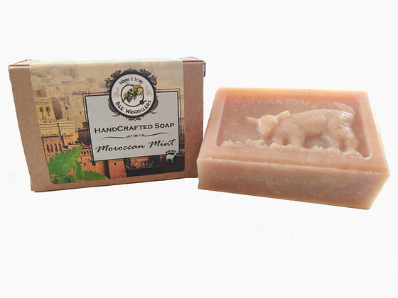 Moroccan Mint (Goats Milk) - Handcrafted Cold Process Soap