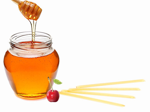 Honey Sticks - Cherry Flavored (4 pack)