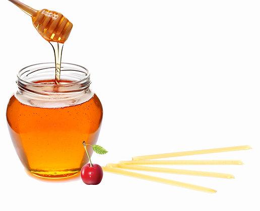 Honey Sticks - Cherry Flavored (4 pack)