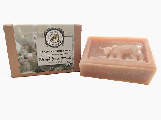 Dead Sea Mud (Goats Milk) - Handcrafted Cold Process Soap