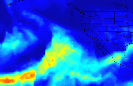 Extreme rain to increase/Climate Change May Lead to Bigger Atmospheric Rivers  EOS Earth & Space Science News