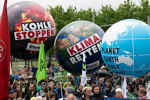 Emissions failures/Rallies in Germany against government's continued reliance on coal DW