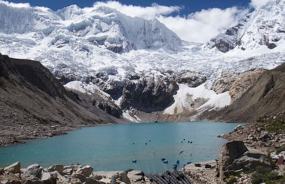 Melting Glaciers /Climate change has turned Peru's glacial lake into a deadly flood timebomb The Guardian