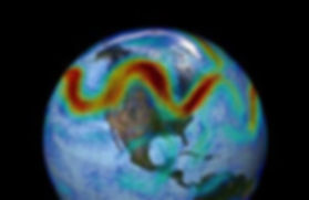Stalled weather / New theory finds 'traffic jams' in jet stream cause abnormal weather patterns  Science Daily