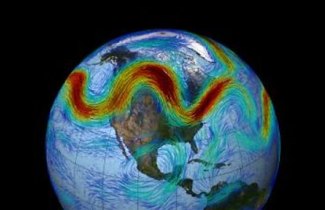 Stalled weather /New theory finds 'traffic jams' in jet stream cause abnormal weather patternsScience Daily